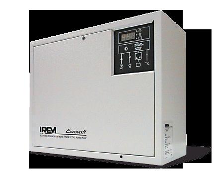 Turbina PELTON TPD IREM - Sistema di regolazione elettronico mod. R500
