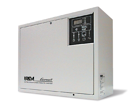 IREM PELTON TPD HYDRO TURBINE - Electronic regulating system mod. R500
