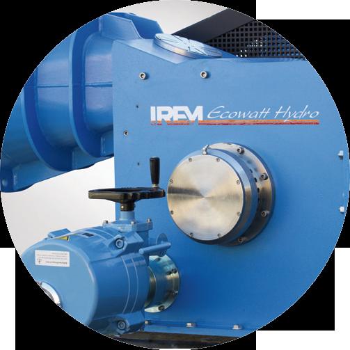 Turbinas hydro BANKI de flujo cruzado - IREM