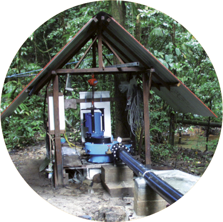 IREM HYDRO Turbines - STAND ALONE INSTALLATIONS - OFF-GRID PLANT