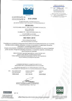 ISO 14001 dal 2000