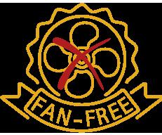 voltage stabilizer: fan-free system