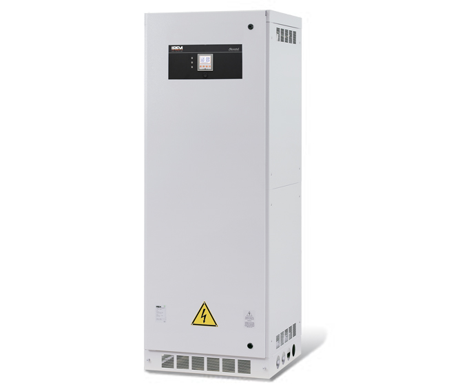 AUTOMATIC VOLTAGE STABILIZERS - IREM STEROSTAB M 16-350 KVA