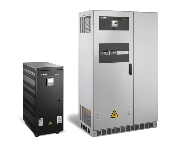 AUTOMATIC VOLTAGE STABILISERS - IREM STEROSTAB Y 3-120 KVA