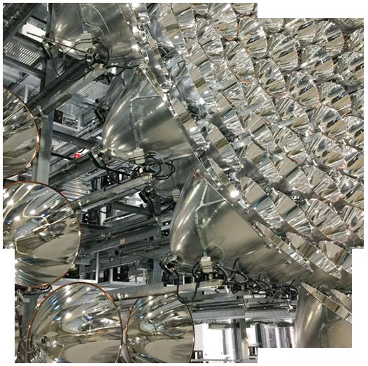 Synlight: Voilà il brille! Le plus grand simulateur solaire du monde.