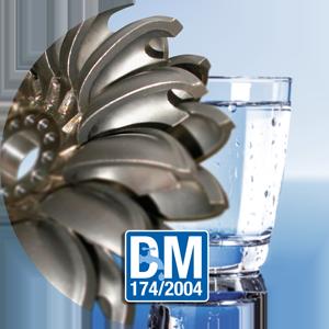 Turbines IREM Ecowatt Hydro pour eau potable certifiés par un organisme extérieur qualifié