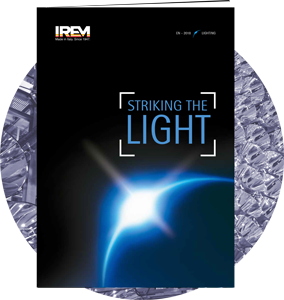 Neue IREM Katalog LIGHTING Linie