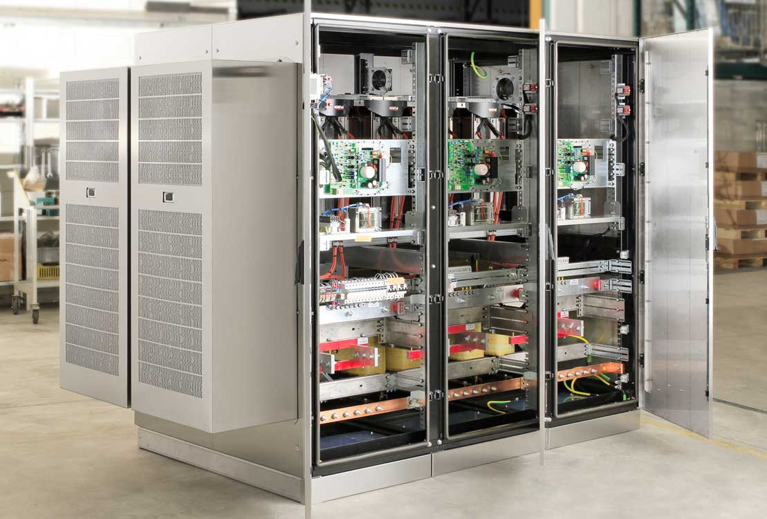 The IREM Sterostab Y322 Voltage Stabilizer was designed to meet the stringent requirements of the food&beverage sector