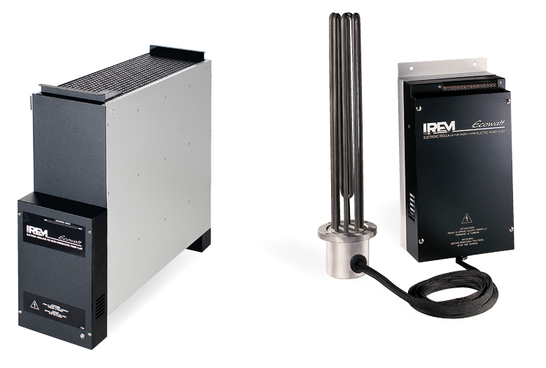IREM RMP Single-phase electronic modular system equipped with resistances for air / water dissipation
