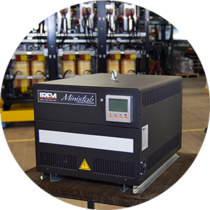 IREM - Voltage stabilizer with combined high protection system