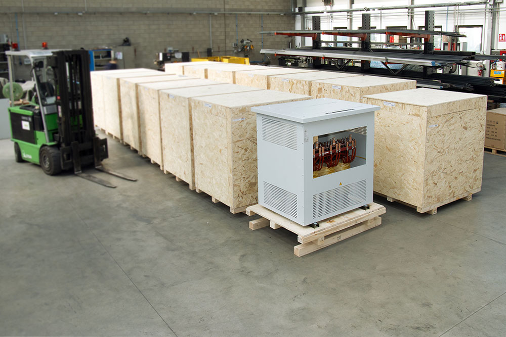 IREM IT series isolation transformers in special version