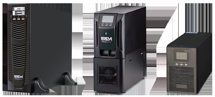 Sistemas de alimentación ininterrumpida IREM - MINIPOWER USF