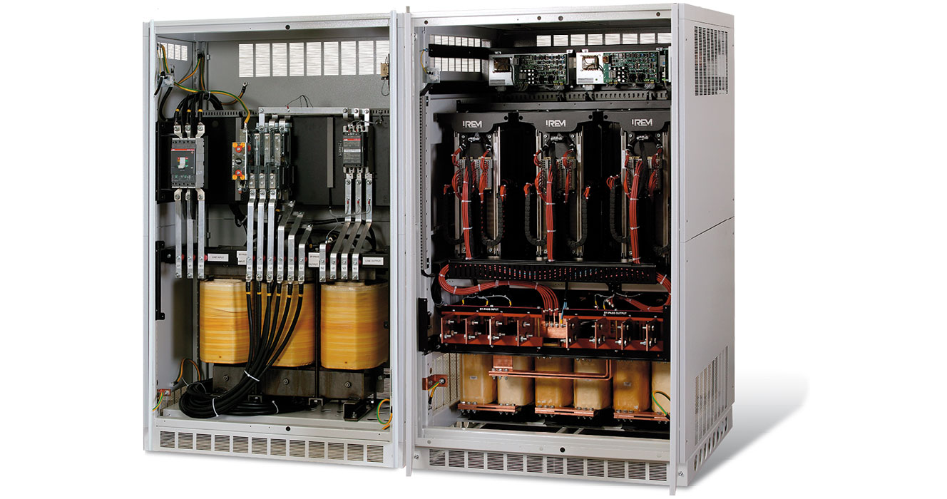 POWER QUALITY ENSURED BY IREM LINE CONDITIONERS