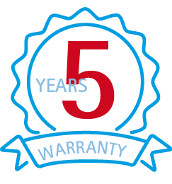 5 YEARS WARRANTY - IREM HYDRO