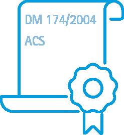 IREM DM 174/2004 ITALIE - ACS FRANCE