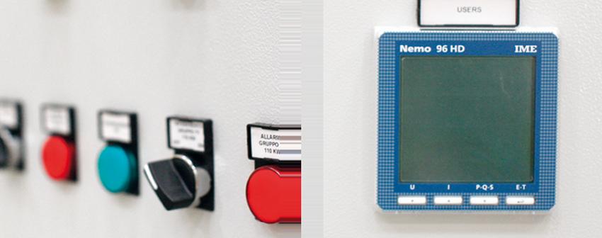 ELEKTRISCHESCHALTTAFEL AUTOMATION NETZ PARALEL - IREM Optionale Ausstattung