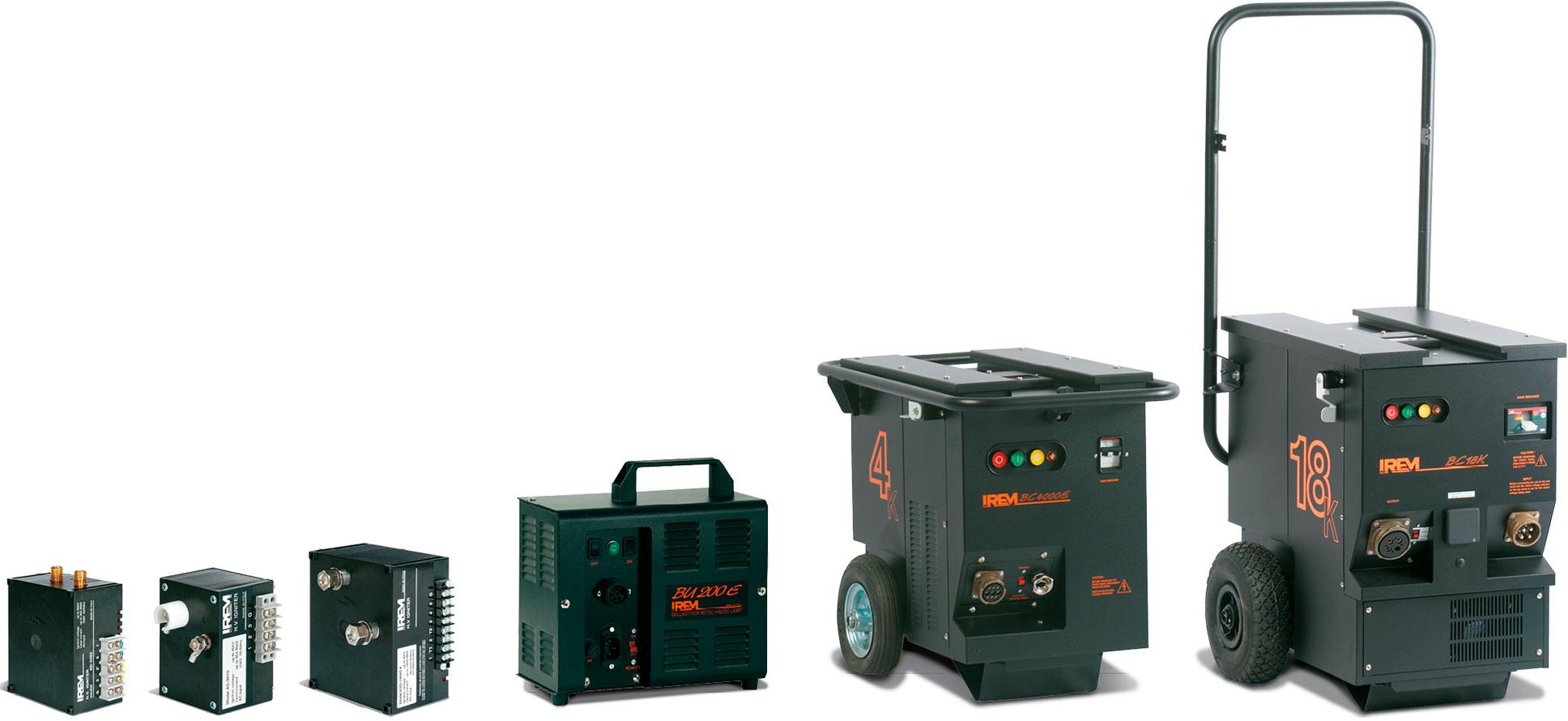 IREM gama completa de balastos magnéticos de alta calidad y encendedores de reencendido en caliente