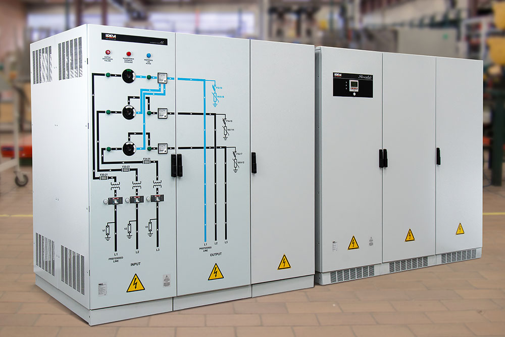 Multifunktionale Stromversorgungsgerät und Spannungskonstanthalter - IREM Power Quality